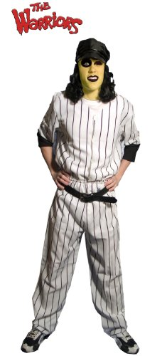 Incogneato WARRIORS MOVIE BASEBALL FURIES COSTUME ADULT STANDARD (Baseball Fury)