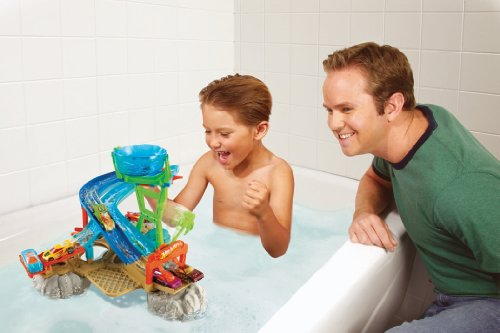Fun Bath Toys For Boys : Hot wheels race rally water park playset buy online in