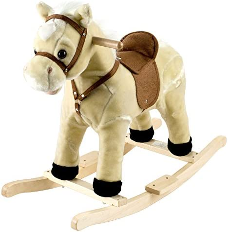 Happy TrailsロッキングLil Henry the Horse Ride On