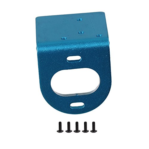 Mxfans Blue RC1:18 Aluminum Alloy Upgrade L Shape 540 Motor Mounting Mount Fixed Bracket Holder for WL A580045 Model Car Adjustable (Bracket Motor Fixed)