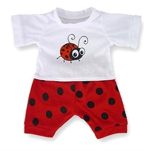 Baue Dein Bears Kleiderschrank 15Zoll Kleider Passen Bj Bär Bug PJ 's Schlafanzug (rot) BYBW LTD 5060322144122