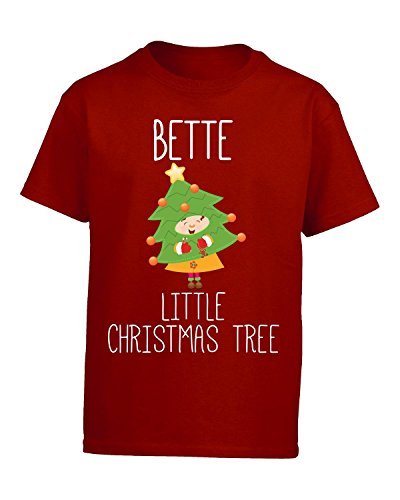 Price comparison product image Bette Little Christmas Tree - Kids T Shirt Kids S Red