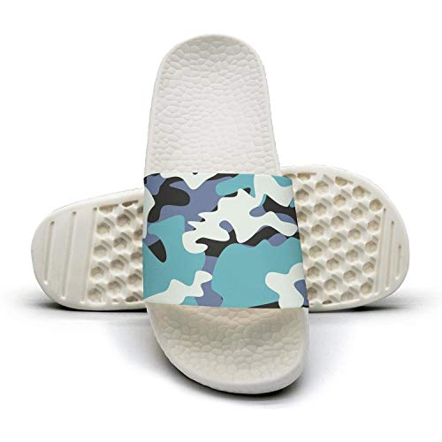Sandals Blue on Comfort Camo Slipper Sandals Anti Attractive Slip Camo Multicam Slip Beach Women Camouflage Shower Camouflage and Multicam ww6gq8I