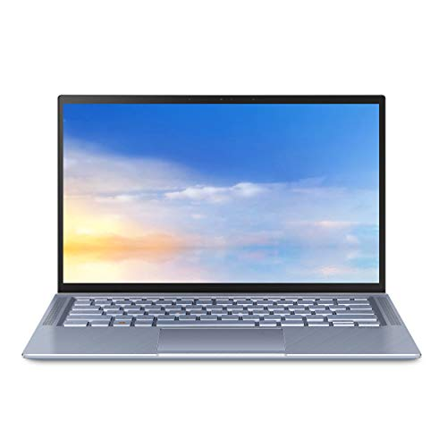 ASUS ZenBook 14 Ultra Thin and Light Laptop, 4-Way NanoEdge 14″ FHD, Intel Core i7-10510U, 8GB RAM, 512GB PCIE SSD, NVIDIA GeForce MX250, Windows 10 Home, Utopia Blue, UX431FL-EH74