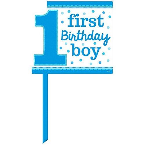 1st Birthday Yard Sign - Blue ()