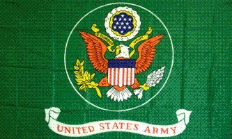 Army Green Flag 3x5 Brand NEW 3 x 5 U S Military Banner