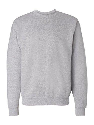 - Hanes Men's EcoSmart Fleece Sweatshirt, Light Steel, Large