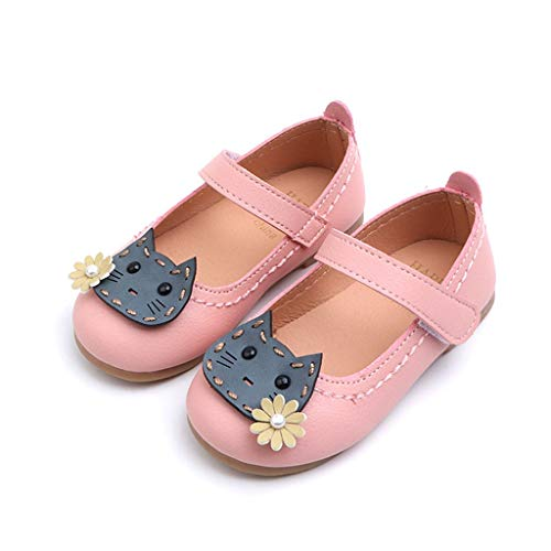 Seaintheson Baby Girls' Shoes - Toddler Infant Kid Baby Girls Flower Cat Single Princess Shoes Casual Prewalker Sandals
