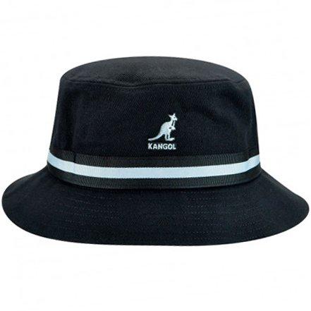 (Kangol Men's Stripe Lahinch, Black X-Large)