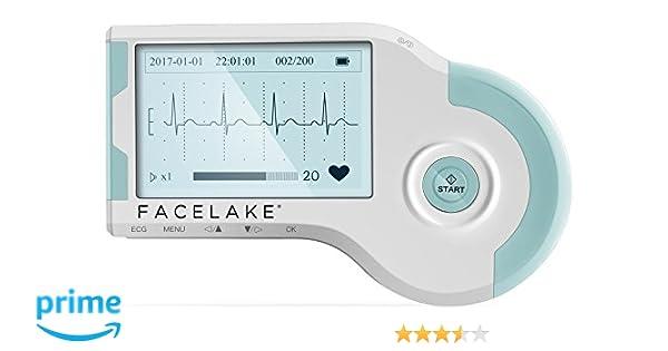 Amazon com: Facelake FL20 Portable ECG/EKG Monitor, MD100B