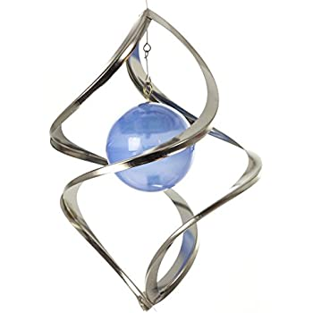 SOLAscape Color Changing Solar Metal Wind Spinner