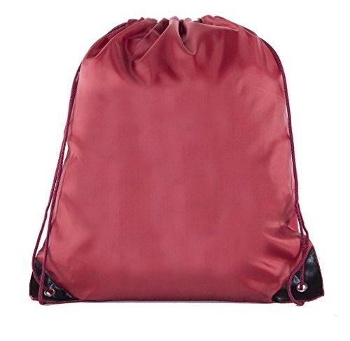 Mato & Hash 25 Bags - Double Strap Drawstring Gym Sack Promotional Party Favor Bag - 15 Colors ()