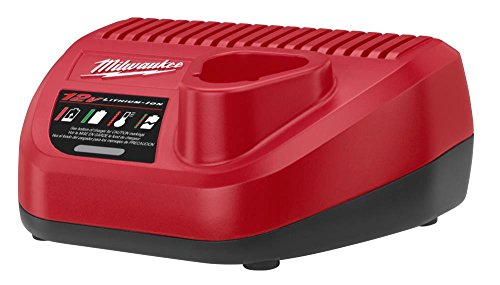 Milwaukee Genuine OEM 48-59-2401 M12 Lithium Ion 12 Volt Battery Charger w/ LED Indicating (Compact Milwaukee)