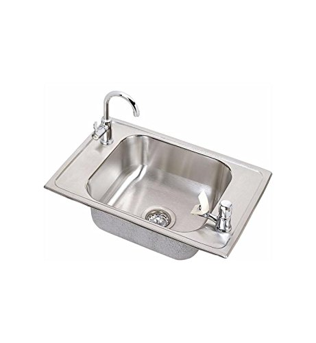 - Elkay CDKRC2517C Sink Stainless Steel