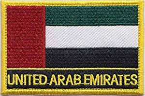 Review UAE Iron On Flag