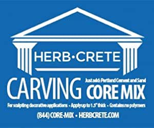 Carving Core Mix by HerbCrete