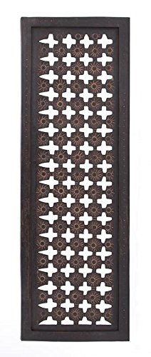 Decorative Mdf Panels (Deco 79 Elegant Wall Sculpture Wood Wall Panel, 48-Inch/16-Inch)