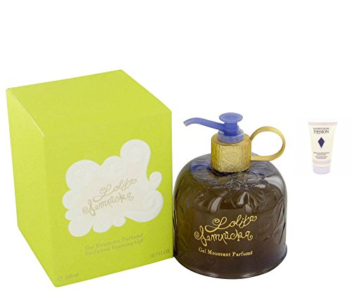Llita lmpicka perfume for women 102 oz perfumed foaming shower gel a free ralph rocks 17 oz shower gel