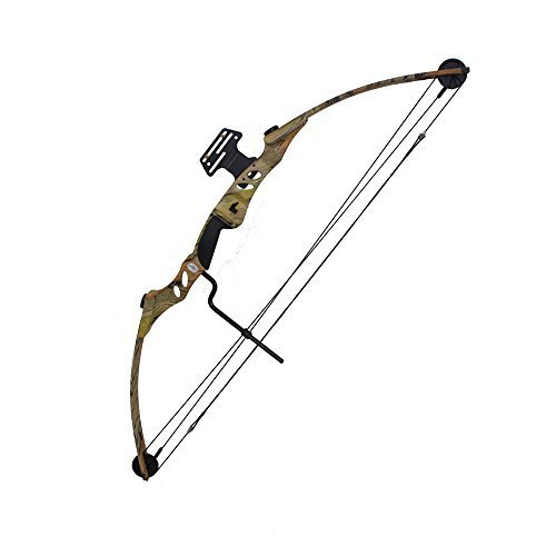 Bow Products : SAS Siege 55 lb 29'' Compound Bow w/ 5-Spot Paper Target