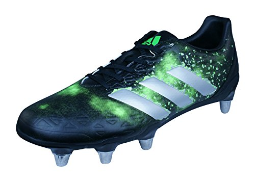 Elite Rugby Boots (adidas Kakari Elite SG Mens Rugby Boots-Black-10.5)