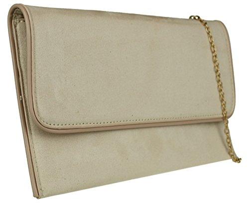 Para Mano Cartera Color Mujer Carne Material Handbags Girly De Sintético TF4UYxwqW