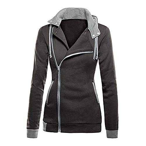 - Womens Hoodie Jacket Duseedik Zipper Slim Fit Hoodie Long Sleeve Blouse Coat Sweatshirt