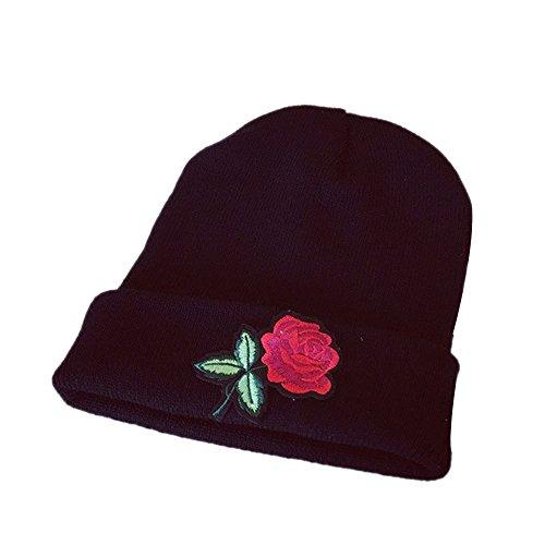 iDWZAWomen Hats Handmade Warm Caps Female Headgear -