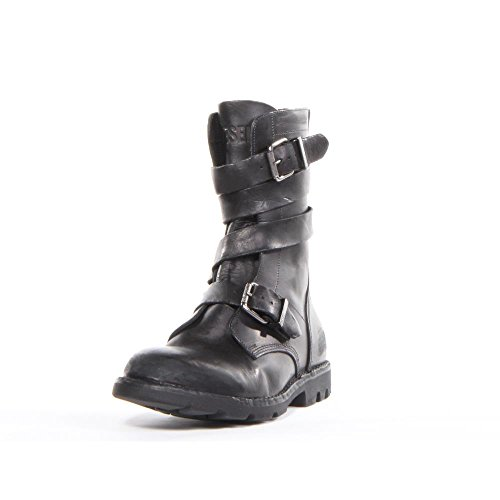 [Diesel D TANKKER BOOT Men US 9 Black Boot EU 42] (Mens Boots For Sale)