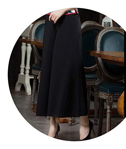 ながら認識行商人チャイナドレスレースシャツ半袖の花の唐のスーツ2ピースのドレスの刺繍,シングルパンツ,XXXL