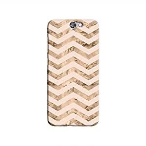 Cover It Up - Brown Pink Tri Stripes One A9 Hard case
