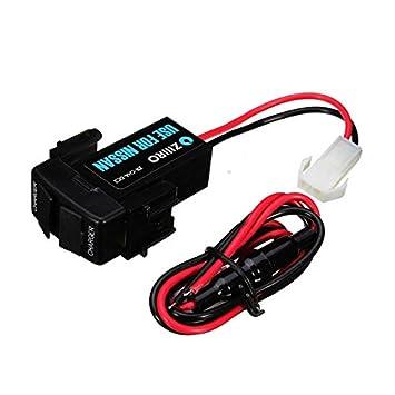Pink Lizard 12 V 3 A doble GPS Tablet USB Toma de corriente Porta móvil cargador de coche para Nissan: Amazon.es: Coche y moto