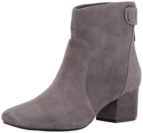 Geschlossener Stahl Bandolino Zeh Fashion Frauen Leder Fauna Stiefel E008xq
