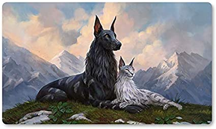 HARMLESS OFFERING Board Game MTG Playmat Games Mousepad Play Mat of TCG