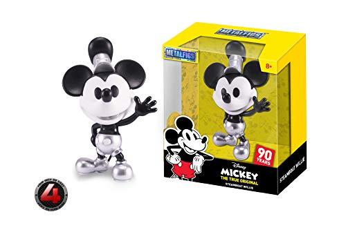 (Metalfigs 30025 Jada Toys Disney The True Original Mickey Steamboat Willie Diecast Figure, 4