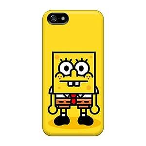 DaMMeke RUVybbC8763ypqBE Protective Case For Iphone 5/5s(spongebob)