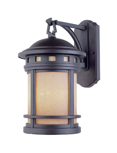 Designers Fountain 2381-AM-ORB Sedona 9 Inch Wall Lantern