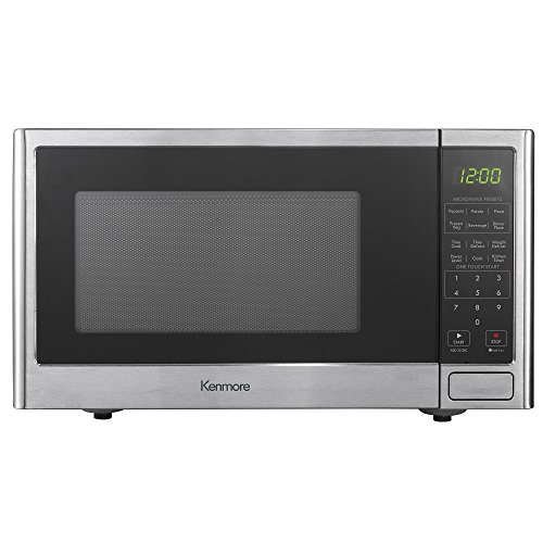 Kenmore 0.9 cu. ft. Countertop Microwave Oven - Stainless Steel