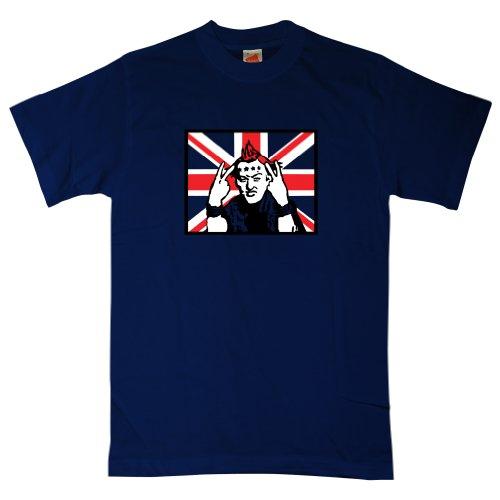 Mens T Shirt - Vyvyan Basterd - 8Ball Originals Tees