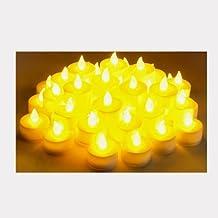 Instapark\xae LCL-48 Battery-powered Flameless LED Tealight Candles, 4-Dozen Pack