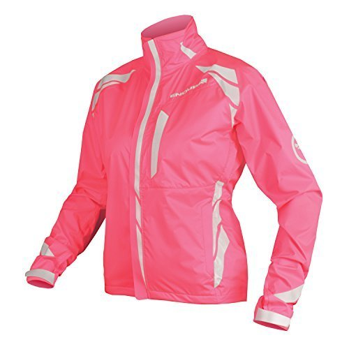 Endura Women's Luminite II Jacket, Hi-Vis Pink, L by Endura by Endura