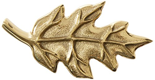 Oak Leaf Doorbell Ringer - Brass (Leaf Doorbell Ringer)