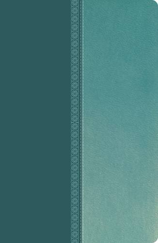 NKJV, Ultraslim Reference Bible, Imitation Leather, Turquoise, Red Letter Edition (Classic)