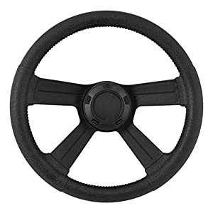Attwood Marine 8315-4 SOFT GRIP STEERING WHEEL W/CAP