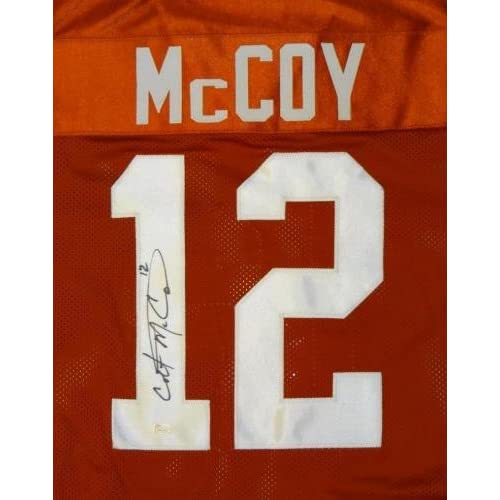finest selection f9bee 06b1c low-cost Colt McCoy Autographed Jersey - Orange College ...