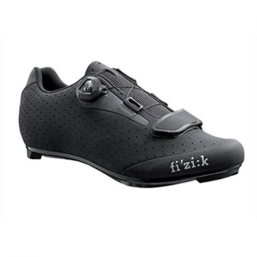 Fizik R5B Uomo Boa Shoe - Men's Black/Dark Gray, 41.5