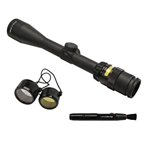 """Trijicon TR20 AccuPoint 3-9X40Mm Riflescope, 1"""" Main Tube with BAC Amber Triangle Post Reticle, Matte black"""