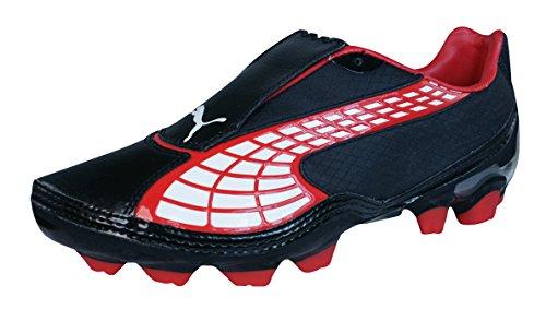 Puma V1.10 i FG Niños botas de fútbol Black