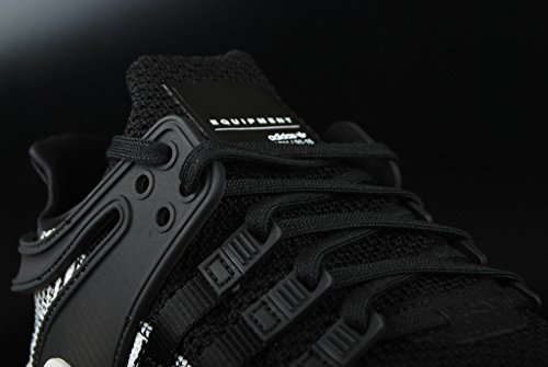adidas Unisex-Kinder EQT Support ADV J Fitnessschuhe Schwarz (Negbas/Negbas/Ftwbla)