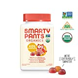 SmartyPants Vitamins: Organic Kids Complete - SINGLE BOTTLE, 30 Day Supply