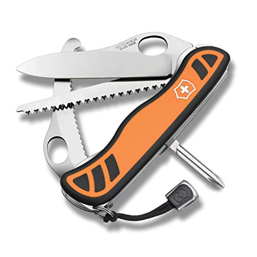 Swiss Army Victorinox 111mm (4-3/8) Hunter XT Multi-Tool with Nylon Pouch, Orange Review